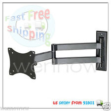 Wall Mount LCD Monitor/Plasma TV Adjustable  ±45° Tilt/180° Swivel Brackets 101