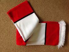 rouge blanc et noir rétro DELUXE BAR écharpe fabrication britannique