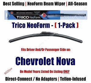 Super Premium NeoForm Wiper Blade (Qty 1) fits 1970-1979 Chevrolet Nova 16160