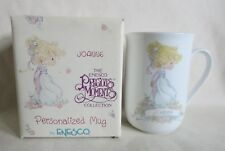 "1991 Enesco Precious Moments ""Joanne"" Mug Personalized Coffee Cup"