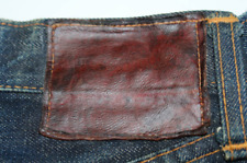 50's Levi's 501XX leather patch original vintage jeans leather w/Tracking#F/S