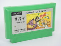Famicom POPEYE Resale Verion Ref/0559 Cartridge Only NINTENDO fc