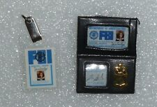 Barbie Agent Dana Scully FBI Badge & ID Tag ~ Newly De-boxed ~ Free U.S Ship