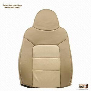 2003 To 2006 Ford Expedition Eddie Bauer Driver Lean Back Leather Seat Cover Tan