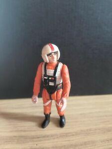 Star Wars Figur Luke Skywalker X-Wing Pilot Original Kenner 1978 ohne Waffe.