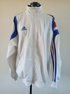 Pre-Owned ADIDAS French Team Mens Sporting Jacket Sydney 2000 Olympics Games - L