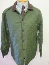 """Barbour Liddesdale Quilted Jacket - S 34-36"""" Euro 44-46 in Green"""