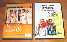QUEER EYE FOR THE STRAIGHT GUY, 2 Emmy DVDs -3 episodes