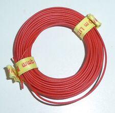 BRAWA 621 Kabel Litze  10m  0,14qmm  Rot