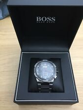 Hugo Boss Men's Supernova Gun Metal Edition Chronograph Watch 1513361