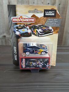 MAJORETTE FORD FIESTA RED BULL WRC RALLY CAR**NEW ON BLISTER CARD**