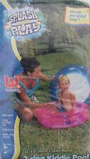 Piscine enfant moins de 3 ans 61cm x 15cm rose ou bleu bestway camping vacances