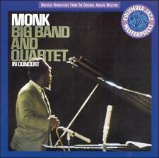 Big Band and Quartet in Concert by Thelonious Monk (CD, Feb-2008, 2 Discs, Colum