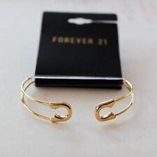 New Forever21 Pin Shape Open Bangle Bracelet Gift FS Fashion Women Jewelry