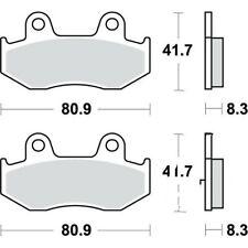 Bremsbeläge Bremsklotz Standard TRW hinten Bremse Motorradbremse Bremssteine 115