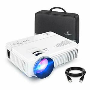 VANKYO LEISURE 3 Mini Projector, 1080P and 170'' Display Supported, Portable
