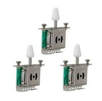 3 PACK 5 Way Pickup Selector Switches Toggle Switch for Strat ST Electric Guitar