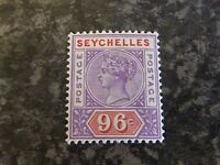 SEYCHELLES POSTAGE STAMP SG8 96C UN MOUNTED MINT