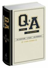 Q and A a Day for College: 4-Year Journal. Graduation Gift Diary List