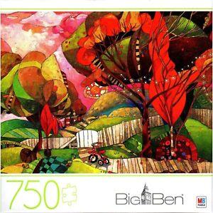 Big Ben 750 Piece Jigsaw Puzzle *Big Backyard* by Milton Bradley