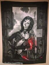 "Nekro Rain Girl XIII Luis Royo  30"" X 40"" Cloth Fabric Poster Flag Tapestry-New!"