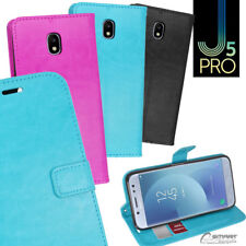 Wallet Flip Card Slot Stand Case Cover For Samsung Galaxy J5 Pro