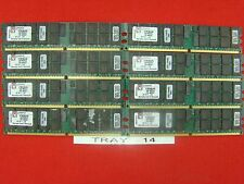 32GB - Kingston 8x KTM2865/8G Server RAM 4GB DDR2-400MHz Tray 14