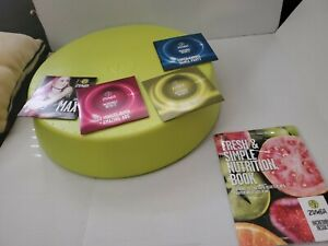 Zumba Rizer Step 7 Workout Discs W/ Nutrition Book Box Max Dance ABS DVDS Lot