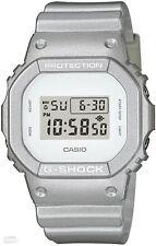 Casio G-shock, DW-5600SG-7ER, Plateado, Cronómetro, Temporizador, alarma de luz de fondo,
