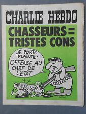 ►CHARLIE HEBDO N°96 -  SEPTEMBRE 1972 - REISER