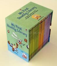 MY FIRST READING LIBRARY 50 BOOK SET IN SLIPCASE BY USBORNE NEW PAPERBACK STORY