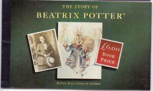 GB 1993 the Story of Beatrix Potter Prestige Booklet SG DX15 MNH