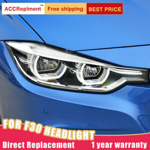 12-16 For BMW 3 Series F30 Headlights assembly All LED Lamps Projector LED DRL