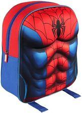 Spiderman Zaino 3D Spiderman Scuola Zaino con licenza di un prodotto originale