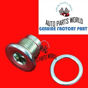 GENUINE TOYOTA 4RUNNER SEQUOIA LX RX IS GS GX DIFFERENTIAL FILLER PLUG W/GASKET