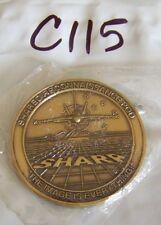 SHARP SHARED RECONNAISSANCE POD NAVY CHALLENGE COIN C115