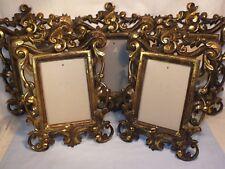 Grand cadre porte photo Baroque Rococo doré - Shabby chic