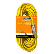 DuraDrive 75 ft. 12/3 SJTW Single Tap Lighted Connector End Extension Cord