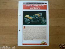 FM13- MOTO GUZZI V10 CENTAURO INFO MOTORCYCLE,MOTORRAD,MOTORFIETS