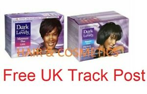 Dark and Lovely No-Lye Hair Relaxer Kit (Super/ Regular) FREE UK POSTAGE !!!!