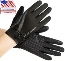 Workout Gloves Full Finger Palm Protection Hand Grip Gym Gloves Weight Lifting