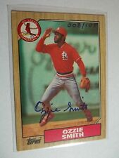 2002 Topps Archives  Autoproof Ozzie Smith Buyback Autograph 8/105