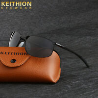 KEITHION Polarized Unisex Sunglasses Driving Sports Outdoor Mirror Glasses UV400