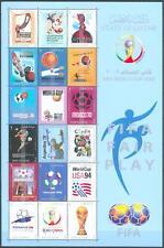 Qatar 2002 ** Mi.1193/10 Fußball Football
