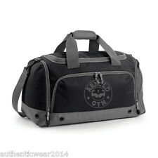 Unisex Arnold Gym Bodybuilding Multi Sport Performance Team Gym Black / Grey Bag