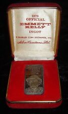 1973 Official Emmett Kelly Greatest Clown One Ounce .999 Pure Silver Creations
