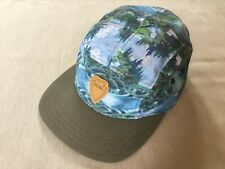 f3aae467b54 Coal Headwear Olive Green And Blue Wilderness Design Adjustable Cap As New