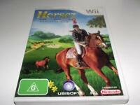 Horsez Ranch Rescue Nintendo Wii PAL *Complete* Wii U Compatible