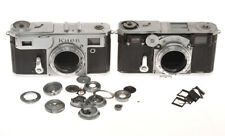 Kiev Arsenal 4A 1964 and Zeiss (?) Contax II, incomplete cameras, sold as is