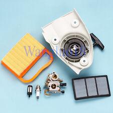 Carburetor Air Fuel Tune up Pull Recoil Starter Kit F Stihl Ts410 Ts420 Chainsaw